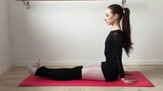 Basic Ballet Warm Up & Stretching Workout