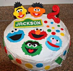 Jackson's Sesame Street Party   CatchMyParty.com