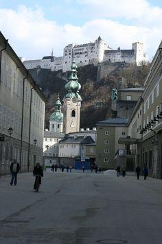 A castle in Salzburg, Austria