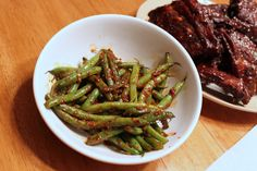 "Spicy Green Beans (from Caren McSherry's ""In a Pinch"")"