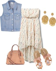 Summer., created by cassie-moquin on Polyvore