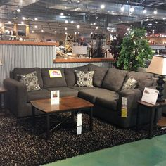 Small Space Design Tip #3: A sectional gives maximum seating while creating a clean continual line. #tiptuesday
