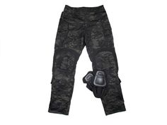 TMC G3 Combat 3D Pants (Multicam Black), Uniform shirt & pants, Shooter Combat Gear