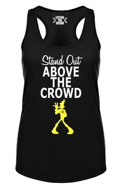 Stand Out Above the Crowd Powerline Goofy Movie by LiftingTheDream