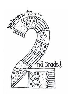 It is a graphic of Current second grade coloring pages printable