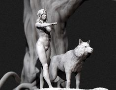 """Check out new work on my @Behance portfolio: """"White wolf"""" http://be.net/gallery/32483425/White-wolf"""