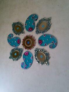 Blue Rangoli