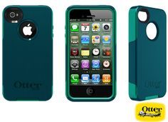 OtterBox Commuter Teal Case for iPhone 4/4S - $32.95