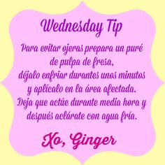 Ginger Lovely Lifestyle: Wednesday Tips
