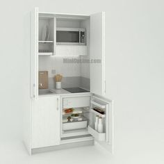 Cucine a scomparsa, Mini Cucine monoblocco | Pinterest | Cucina ...