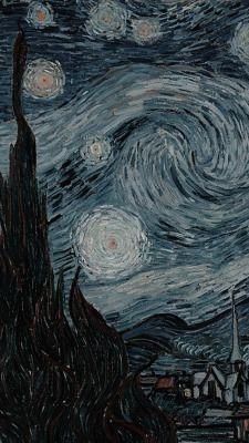 be a cartoon heart Starry Night Wallpaper, Starry Night Art, Arte Van Gogh, Van Gogh Art, Monet Paintings, Van Gogh Paintings, Black Background Wallpaper, Art Background, Van Gogh Wallpaper