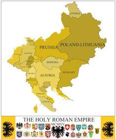 Fantasy Map Generator, Fantasy World Map, Imaginary Maps, Holy Roman Empire, Alternate History, Fictional World, Historical Maps, Peta, Teaching History