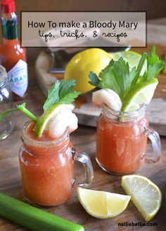 How to make a bloody mary | basic recipe for bloody mary's. A perfect cocktail choice for New Year's Eve parties!