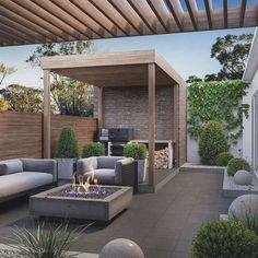 Patio Diy, Outdoor Patio Designs, Backyard Pergola, Pergola Designs, Backyard Landscaping, Outdoor Decor, Patio Ideas, Pergola Ideas, Backyard Ideas