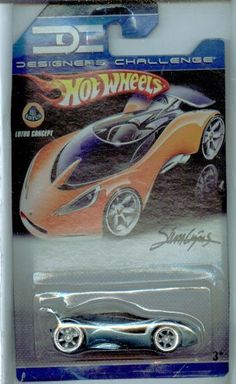 Hot Wheels Designers Challenge Lotus Concept GRAY 1:64 Scale by Mattel. $4.99. officially licensed. designed for an adult. exclusive designs. 1/64 scale. die cast body and chasis. -  Hot Wheels Designers Challenge Lotus Concept GRAY 1:64 Scale