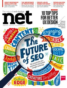 #Net Magazine 252. Make #HTML emails look great on any device. The future os #SEO and much more...