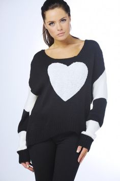 Heart Stripe Jumper to try and knit:)