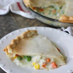 This chicken pot pie is easy and hearty. A great meal for any night of the week. Pre-made pie crust makes this easy to prepare and delicious. Oat Muffins, Healthy Muffins, Magnolia Bakery Banana Pudding, Vegetable Pie, Banana Pudding Recipes, Homemade Pie Crusts, White Chocolate Raspberry, Best Cheese, No Bake Pies