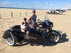 Brad Edmonds' Indian Thunderstroke 111 outfit... and friend :)