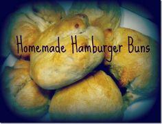 Grow. Pray. Build.: Homemade Hamburger Buns
