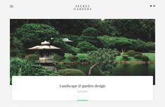Website for garden architect & botanical gardens Create Website, Botanical Gardens, Garden Landscaping, Gazebo, Garden Design, Outdoor Structures, Landscape, Business, Kiosk