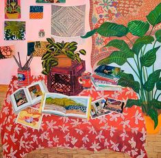 Artist Anna Valdez, via Cut and Paste.