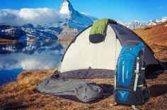 Zelte, Schlafsäcke & Luftbetten