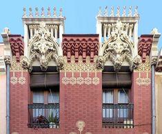 Casa Miquel Parera i Partegàs  1894  Architect: Josep Puig i Cadafalch