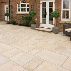 indian sandstone paving - natural stone patio flags - garden slabs ... - Patio Paving Ideas