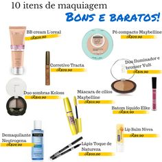 Skincare and Tips Makeup Dupes, Makeup Kit, Skin Makeup, Makeup Cosmetics, Beauty Make Up, Diy Beauty, Beauty Hacks, Maybelline, Neutrogena