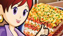 Lasagna: Sara's Cooking Class on PrimaryGames.com