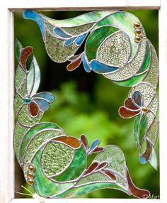 vitrail lanternes | coin-déco-bullegivree-vitrail-bullegivrée