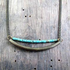 Suma turquoise necklace $36