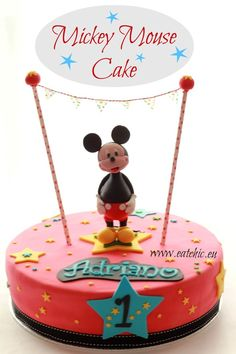 Mickey Mouse Cake - Eat Chic