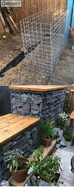 examples of how to build gabion walls