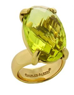 """50% off retail www.neelys.storenvy.com Use Coupon Code neelys50 at checkout  GEMSTONE SHAPE IS LONG RECTANGE  AS SHOWN IN THE SMOKEY QUARTZ RING BUT IS A CITRINE AS SHOWN IN THE OVAL RING.  Handcrafted in Alchemia """"Zero Karat Gold"""" by Charles Albert. Lead Free, Nickel Free, Hypoallergenic. Baked lacquer finish to protect metal from turning or tarnishing. Fits sizes 5-1..."""