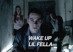 @RandomStuffles  )) you're character wakes up to Daker saying this to you. ( Eliza, Colton and Danae are there also. )