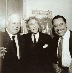 Jean Renoir, Jean Cocteau & Cab Calloway