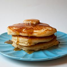 Fluffy Buttermilk Pancakes (I made these this morning and they were awesome)