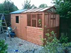 x greenhouse shed combination building built and supplied by heritage garden sheds nelson