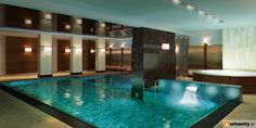 Swimming pool @ Foksal Residence