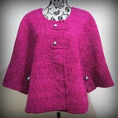 Capa BC125 moda otoño invierno baul costureras