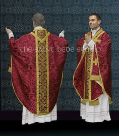 Chasubles Style of the Roman Rite: 3