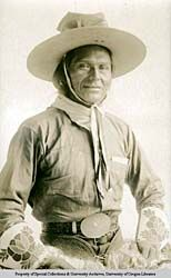 1863 -1923  BIRTH PLACE: Idaho  TRIBE: Nez Perce, Jackson Sundown was from the Wallowa band and nephew to Chief Joseph. At age 14, he was with Chief Joseph in the famous Nez Perce War of 1877.  Rodeo - Bronc Rider  Pendleton Round-Up, Pendleton, Oregon, captured the World championship in Bronc Riding at age 53, 1916  First and only full-blood Indian ever to win a major rodeo championship  Inducted in Pendleton Round-Up Hall of Fame