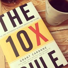 10X Tuesday's  The 10X Rule  By Grant Cardone @grantcardone - What if you operated at a level of action that consistently resulted in crushing your every goal? That's the power of the 10X life  - Here's my 3 favorite book quotes: - Success tends to bless those who are most committed to giving it the most attention. - You must set targets that are 10 times what you think you want and then do 10 times what you think it will take to accomplish those targets. Massive thoughts must be followed by…