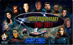 Star Trek:The Next Generation..30th anniversary 1987-2017