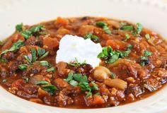 Italian Food Forever » Italian Style Three Bean Turkey Stew