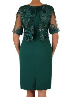 Gaun Dress, Stylish Gown, Office Dresses For Women, Over 60 Fashion, Lace Dress Styles, Mother Of Groom Dresses, Designs For Dresses, Necklines For Dresses, Classy Dress