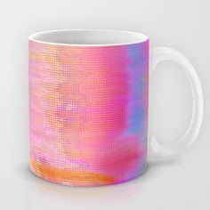 00-36-36 (Face Glitch) Mug b... from society6.com on Wanelo