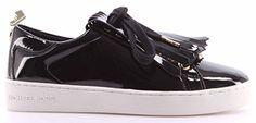 MICHAEL Michael Kors Women's Keaton Kiltie Sneakers, Black, 8 B(M) US - Michael kors sneakers for women (*Amazon Partner-Link)